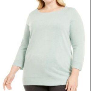 NEW Karen Scott Luxsoft Ballet Plus Size Sweater